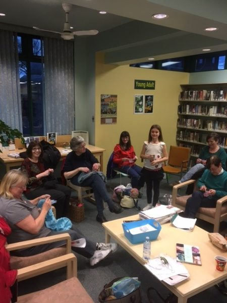 Jarvis Library Knitting Club