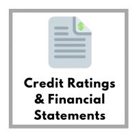 Credit Ratings & Financial Statements